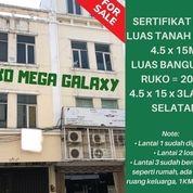 Ruko Siap Pakai Megah Galaxy Cocok Untuk Usaha Apapun