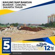 Kavling Dekat Stasiun Buaran (21811719) di Kota Jakarta Timur
