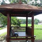Gazebo Atap Sirap Ulin (21840759) di Kota Pasuruan