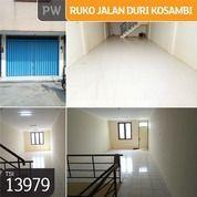 Ruko Jl. Raya Duri Kosambi, Jakarta Barat, 4x15m, 3 Lt, SHM (21846211) di Kota Jakarta Barat