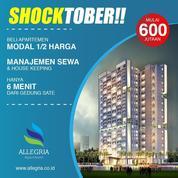 Beli Apartemen Allegria Bandung Modal 1/2 Harga