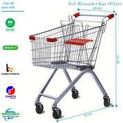 Troli Belanja 60 Liter Import - Trolley Minimarket