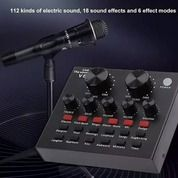Soundcard V8 Mixer V8 Sound Card V8 MIXER Audio USB External Soundcard