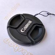 Lens Cap Tutup Lensa Canon 55mm