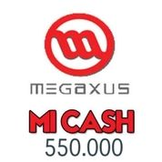 Voucher Game Online Megaxus 550.000 Mi Cash