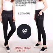 Legging Branded Wanita - FOREVER 21 32 ONESIDE POCKET LEG (21905583) di Kota Jakarta Selatan