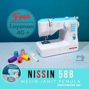 Mesin Jahit NISSIN 588 Portable