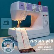 Mesin Jahit NISSIN 988 Portable