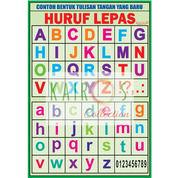 Poster Anak Edukasi - Huruf Lepas (Murah) (21920871) di Kota Surabaya