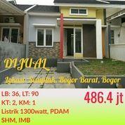 Rumah Free Furniture Green Valley Bogor Dekat Bandara Atang Sanjaya Dan Toll BORR Yasmin (21952919) di Kota Bogor