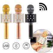 MIC KARAOKE WSTER WS 858 Wireless Bluetooth - Mic Smule WSTER WS 858