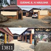 Gudang Jl. H. Maulana, Tangerang, 15x50m, SHM (22012151) di Kota Tangerang
