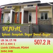 Rumah Bonus Furniture Green Valley Semplak Bisa KPR Dekat Bandara Atang Sanjaya Dan Toll BORR Bogor (22012287) di Kota Bogor