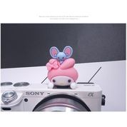 Cartoon Hot Shoe Cover Bunny