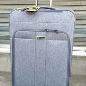 Promo Tas Koper President Kanvas Double Zipper TSA Lock