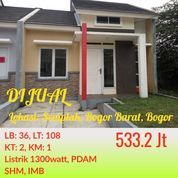 Cluster Free Furniture Green Valley Semplak Bisa KPR Dekat LanUd Atang Sanjaya, Giant Yasmin Bogor (22033787) di Kota Bogor