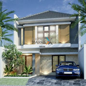 Rumah Baru Gress Minimalis Nirwana Eksekutif Dekat Merr (22047459) di Kota Surabaya