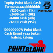 Voucher Cash Point Blank Resmi