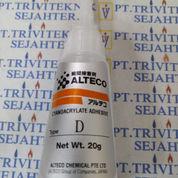 Lem Cair Tetes Alteco,Instant Power Glue Cyanoacrylate Adhesive