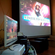 Home Theater Dan Karaoke Set
