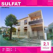 Rumah Hook Baru 2 Lantai Luas 209 Di Taman Sulfat Kota Malang _ 418.19 (22070823) di Kota Malang