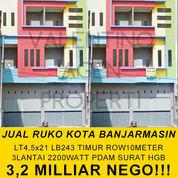 NEGO Siap Pakai Ruko Kota Banjarmasin (Bonus Data Pelanggan) (22077247) di Kota Banjarmasin