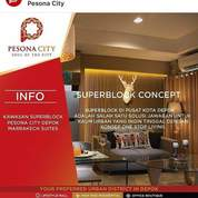 Topping Off Apartemen Pesona City Depok