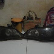 Headlamp Honda Civic Batman Ada 2 Pasang ,Yg 1 Psang Kondisi'y 60% Udh DModif, Yg 1 Psang Lg 90% Bru (22083679) di Kota Bekasi