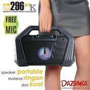 Dazumba DW296 GO K Portable Karaoke Bluetooth Speaker + Mic Wireless