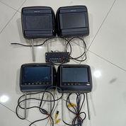 Headrest Monitor TV 2 Pasang (22126739) di Candi