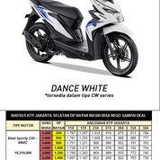 Honda BeAT ESP CW Dance White Otr Jakarta