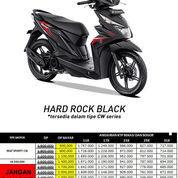 Honda BeAT ESP CW Hard Rock Black Dp Nego Sampai Deal Otr Bekasi Bogor