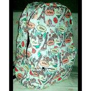 Canvass Backpack (Ransel Kanvas) + Tanpa Merk + Baru (Lihat Sepsifikasi)
