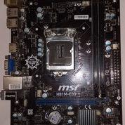 Mainboard MSI H81M-E33 Socket 1150 (22151267) di Kota Bandar Lampung