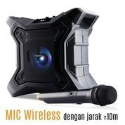 Bluetooth Portable Karaoke Speaker Dazumba DW288 Waterproof IPX5