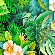 Lukisan Tropical Forest (22156151) di Kota Denpasar