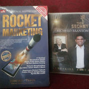 Seri Sukses Paket Buku Rocket Marketing Dan CD Audio The Secret Of Richard Branson
