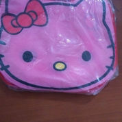Tas Furing Hello Kitty Pink Uk 26x34x9