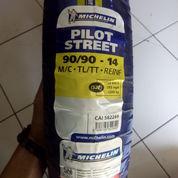 Ban Michelin Pilot Street 90/90-14, Murah Dan Cuman 1 Stok