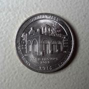 Koin Quarter Dollars USA Emisi 2016