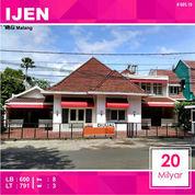 Rumah Samping Mall MOG Luas 791 Daerah IJEN Kota Malang _ 565.19