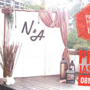 BACKDROP PHOTOBOOTH, SEMINAR DAN GATHERING DI MEDAN (22201883) di Kota Medan