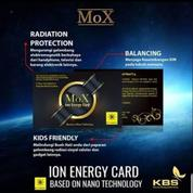 MoX Ion Energy Card.