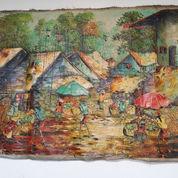 Lukisan Canvas Motif Pasar Burung (22209487) di Kota Jakarta Barat