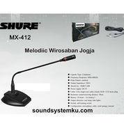 Mic Meja / Mimbar Shure MX New (22214483) di Kota Yogyakarta