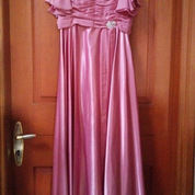 Gaun Pink Halus Berjarit (2222183) di Kota Jakarta Pusat