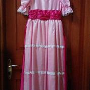 Gaun Elegan Pink Halus & Berpita Merah (2222363) di Kota Jakarta Pusat