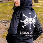 Jaket Anime Onepiece Yongko Blackbeard | Marshal D Teac E9