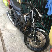 Satria FU FI Injection 2018 150cc Black Predator Tipe Tertinggi Mulus (Alarm+USB Charge)