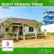 Tanah + Bangunan Luas 211 Di Bukit Cemara Tidar Kota Malang _ 570.19